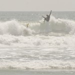 Daniel Thomson off the top at Oceanside