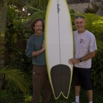 Mike and SP, 6'8 wing swallow tri fin