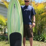 Ryan with Pendoflex keel fin fish