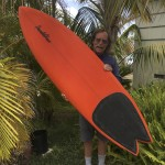 "Sweet Pendoflex 6'3"" sims-bump single wing swallow tail for Mr. A."