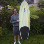 Steve with the Pendoflex arc tail for Matt