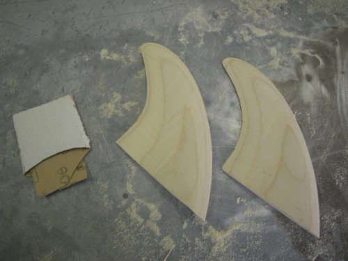 The fins are foiled!