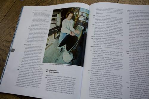 Steve Pendarvis, Pendoflex, The Surfers Journal summer issue