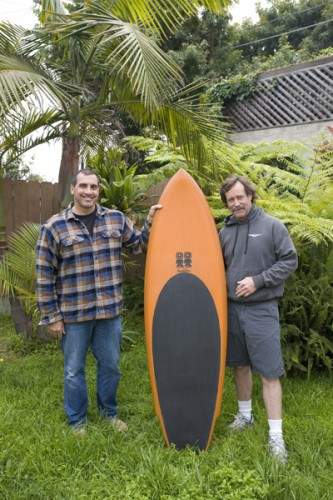 Mike and Steve with the Octafish Pendoflex