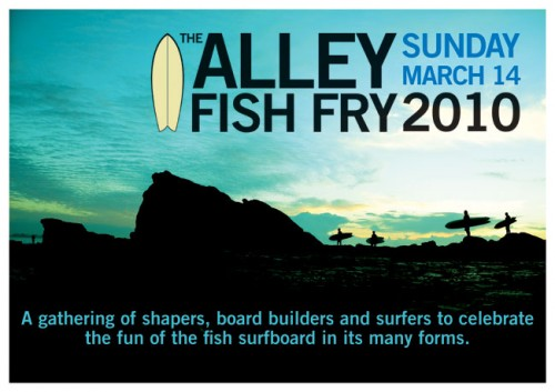 ALLEY FISH FRY 2010 Poster