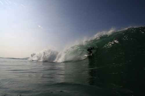 Justin tube 1, by Jesse Harloff of Tiburon Photography