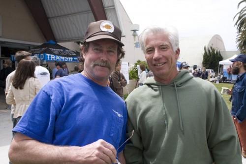 Steve Pendo and Steve Biegler, stoked!